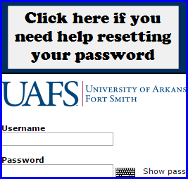 Click here if you need help resetting your password