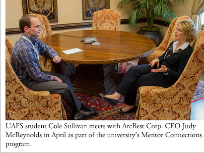 Cole Sullivan meets with ArcBest Corp. CEO