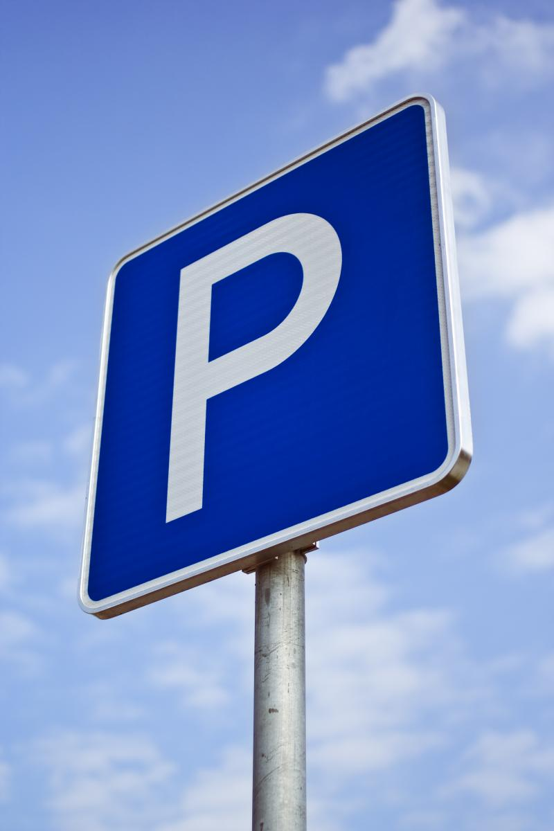 Photo of parking sign